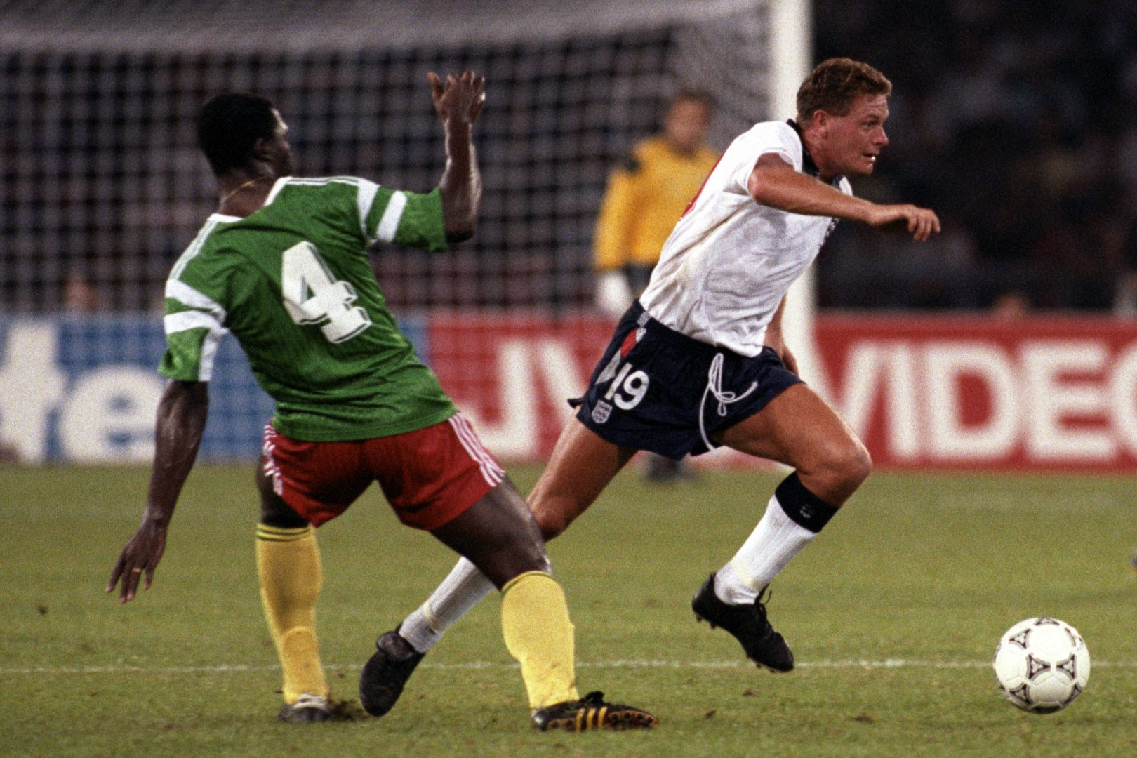 England vs. Cameroon, Italia 90