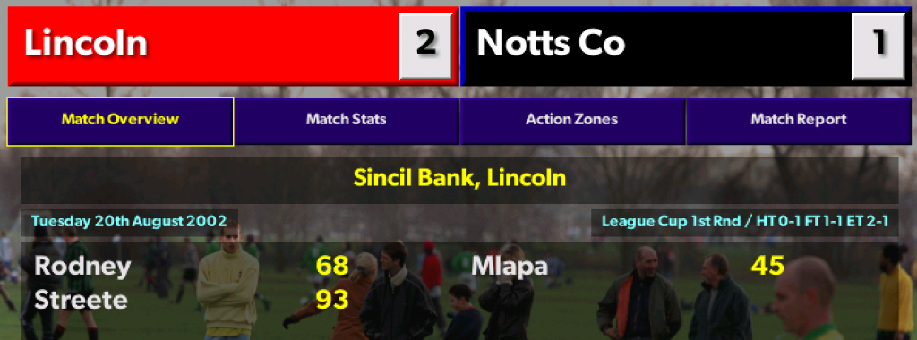 Notts County League Cup