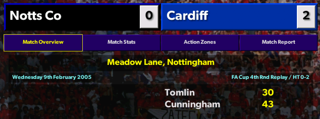 FA Cup replay exit
