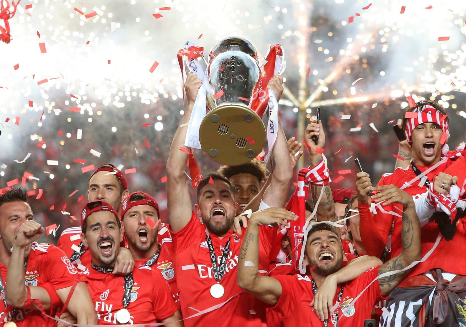 Benfica of Lisbon, Portuguese champions of 2018/19