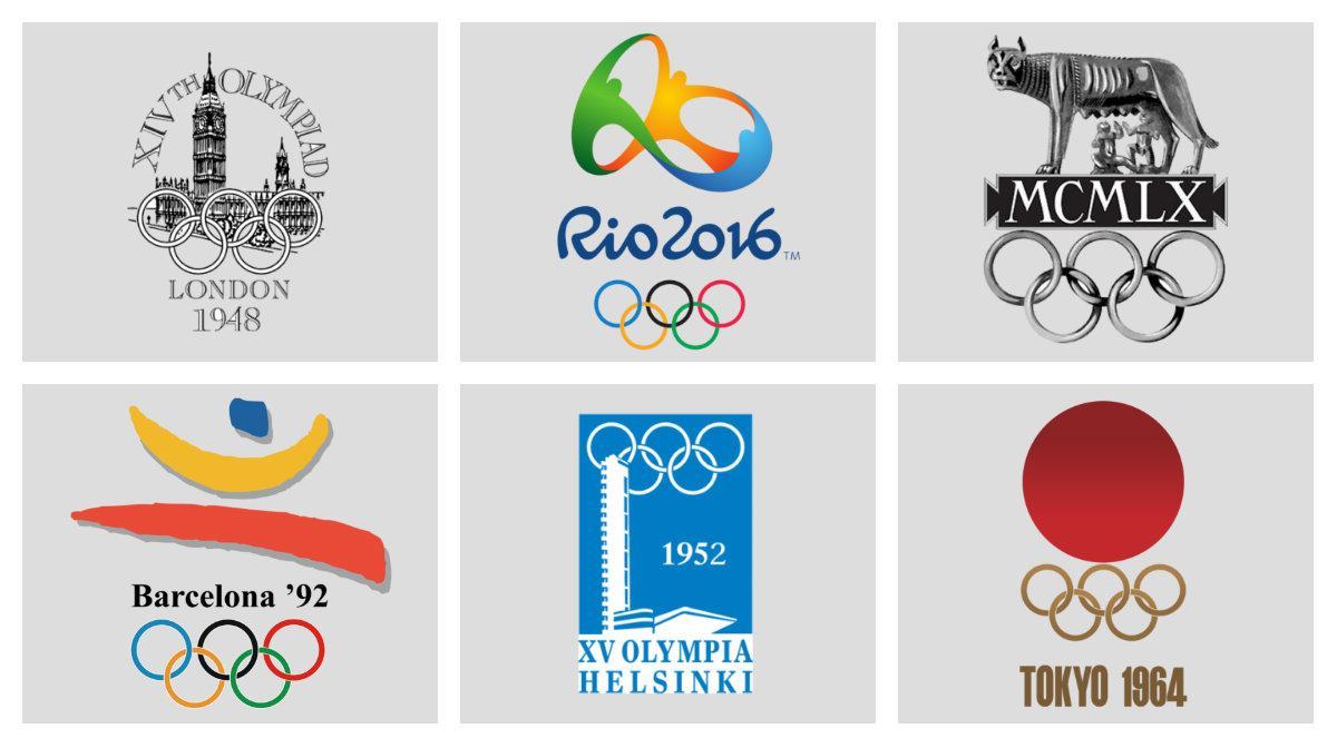 olympics logos