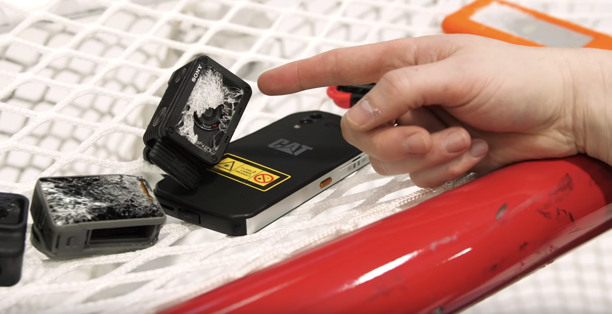 Jeff Bakalar puts rugged tech to the test with a heap of slapshots