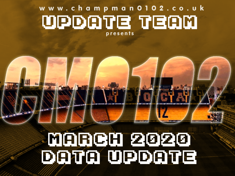 champman0102.co.uk release March 2020 Update