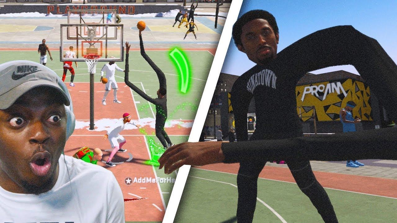 Hacker gives Kobe Bryant super long arms in NBA 2K20