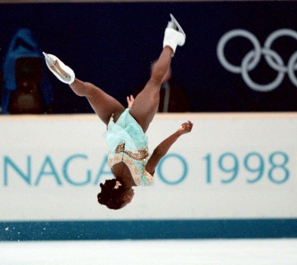 Surya Bonaly's backflip at the 1998 Nagano Games