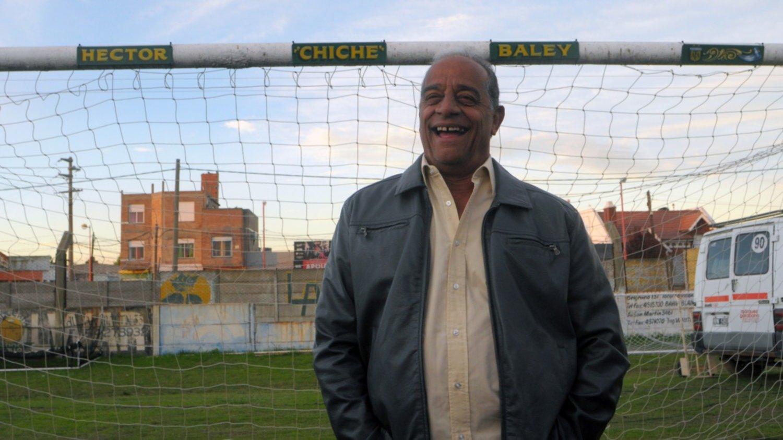 Héctor Baley, former Black Argentina national goalkeeper