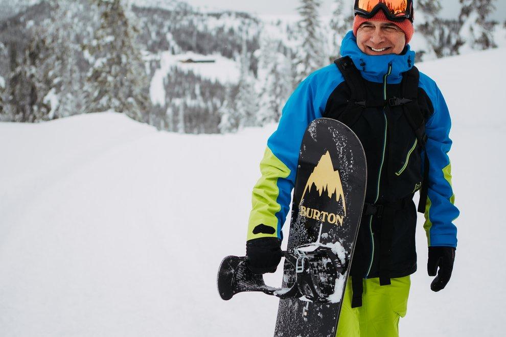 How Jake Burton Carpenter helped disabled athletes